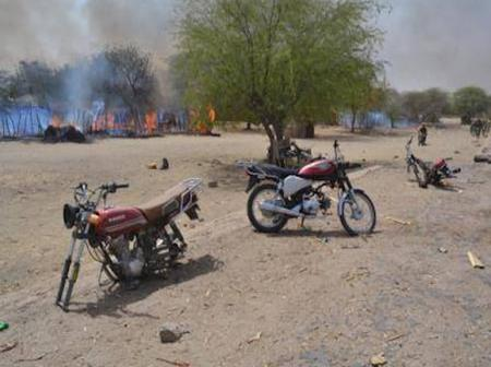 Police recover 7 more rotten corpses of bandits in Katsina forest