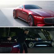 (Pictures) See Drake In The 5 Million Dollars Mercedes Benz Car That Is Not Even Released Yet