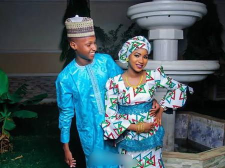 15-Year-Old Boy Who Got Married In Abia Releases Some Photos Of Him And His Beautiful Wife