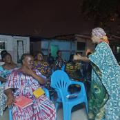 Marcory : Mme Diop Pulchérie Bahi en tournée de reconnaissance après les législatives