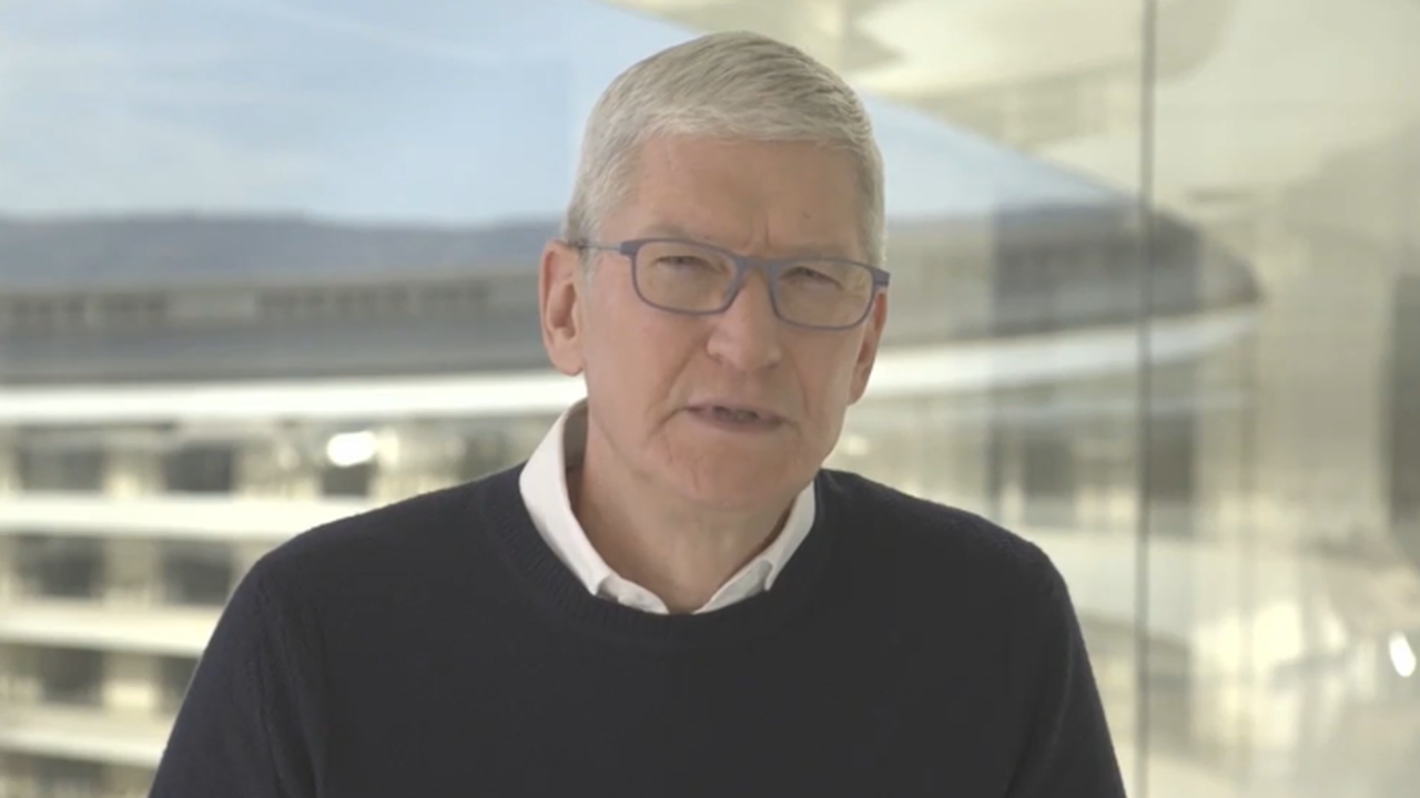 Apple CEO Tim Cook Says Parler Suspension and Free Speech Unrelated