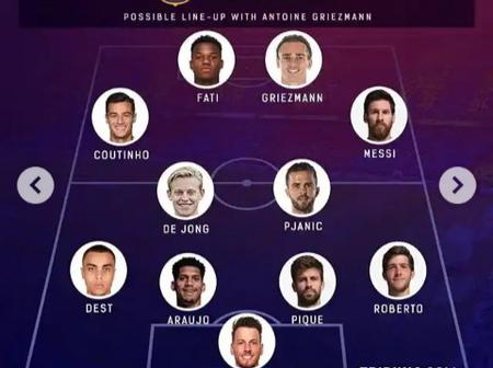 Barcelona Vs Getafe Will Be A Tough Game But Here Is How They Could Lineup To Defeat The Dark Blues