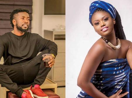 Bisa Kdei and eShun Sparks in their dating rumours.
