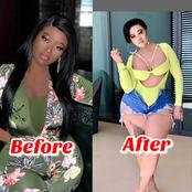 Check Out Before and After Photos Of This Video Vixen Who Had Cosmetic Surgery