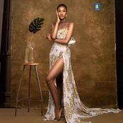 La miss Maryline Kouadio éblouie à nouveau la toile avec une tenue sensationnelle