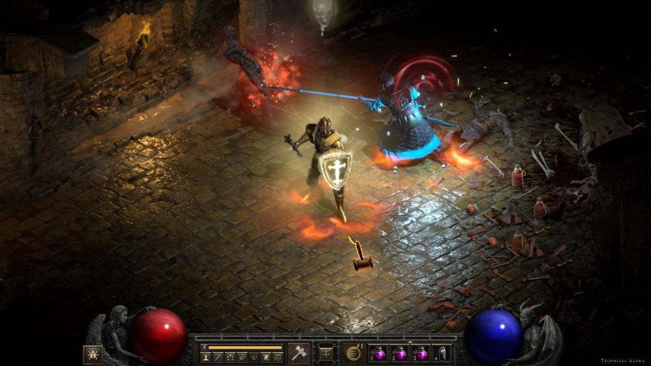 Diablo 2 Resurrected: Paladin - Einsteigerguide für Gesegneter Hammer