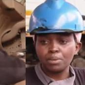 Meet Beautiful Lady Who Repairs President Uhuru's Car And Other Government Officials'