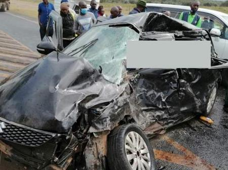 Bongo Star Gets Robbed in Naivasha After Being Involved in a Car Accident
