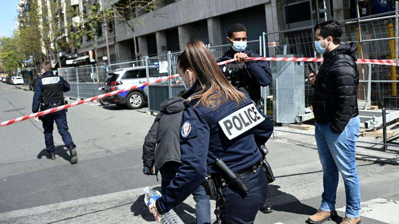 Paris shooter is on the run, leaving behind one dead and one injured