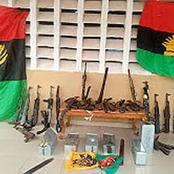 Breaking: Delta Police Uncover IPOB hoodlums Camp In Asaba,Kill 3 In Gun Battle.