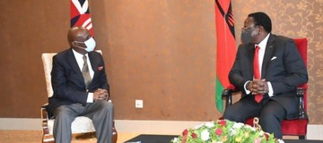 Senator Moi delivers goodwill message to Chakwera: Urges for stronger Kenya-Malawi ties