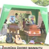 Tears As Benga Artist Albert Gacheru And His Brother are Laid To Rest