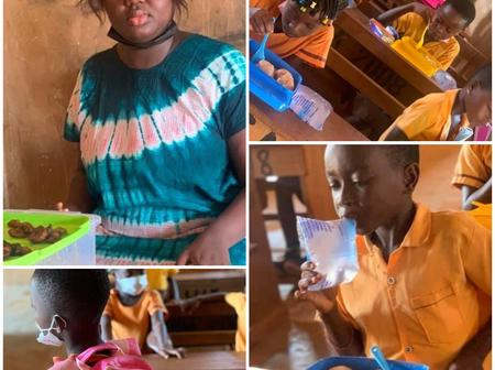 So Why Is Abena Serwaa Being Threatened By The GES, She Was Feeding The Kids With Her Own Money-Fans