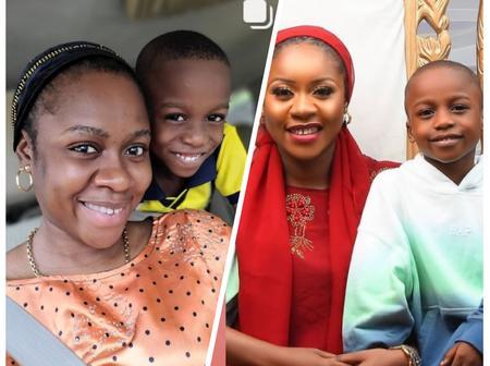 Yoruba Actress Olayinka Solomon Celebrates Son's Birthday Today
