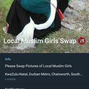 Telegram exposed for spreading nudes of Durban girls.