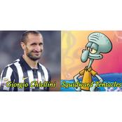 Hilarious Pictures Of Footballers And The Cartoon Characters They Look Like