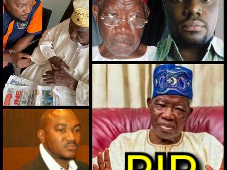 Meet The Children Of The Former Governor Of Lagos State That Died A Month Back (PHOTOS)