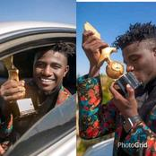 God's Grace! See the guy that just won the best comedian of the year award (Photos)