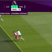 How Is This Offside, See Photos of VAR decision To Disallow Goal