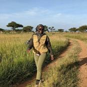 The Reason Behind Lupita Nyongo Holidaying In Tanzania Revealed