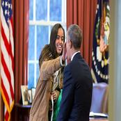 Photos: Barack Obama's Daughter Smoking