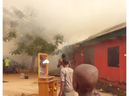 Fire Razes Down House And Properties