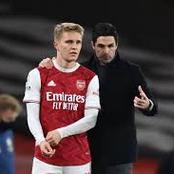 ØDegaard's Makes Arsenal Prediction, Express His Happiness Working Under Arteta