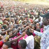 Ruto Ends his Tour in Meru County With an Amazing Crowd