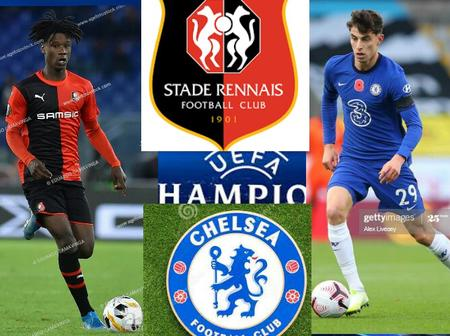Rennes vs Chelsea: See results that can qualify Chelsea for round of 16 today