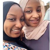 Rahama Sadau Shows Off Her Sister Teema Sadau, Calls Her