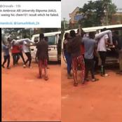 A Year One Student of Ambrose Alli University fainted after seeing his Chemistry 101 Result
