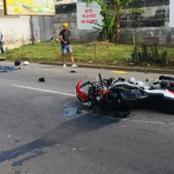 Violente collision entre un véhicule et une moto à Marcory : une personne tuée sur le coup
