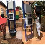 Here Is What Nigerians Are Saying As Ghana Installs Water ATM (Photos)