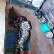 See what Nigerian soldiers go through in North East, some sleep in dug holes just to save civilians