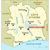 Voici le vrai centre de la Côte d'Ivoire et ce n'est pas Bouaké