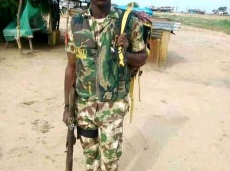 Check out what this Igbo soldier did and why he will die by firing squad