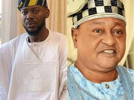 Meet The Real Father Of Popular Musician 'Adekunle Kosoko', And His Uncle Who Is An Actor