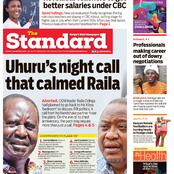 Uhuru's Call that Calmed Raila
