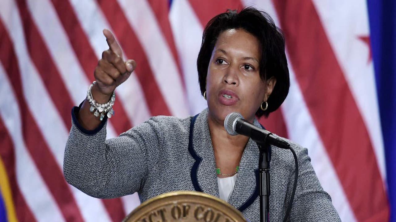 DC Mayor Muriel Bowser dismisses right-wing claims she broke mask rules at wedding as 'disinformation'