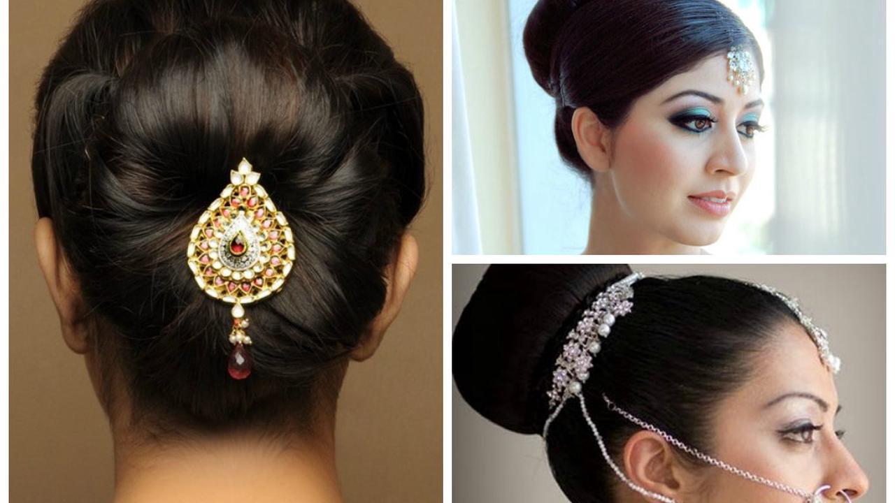 18 Best Simple Indian Wedding Hairstyles for Medium Length Hair ...