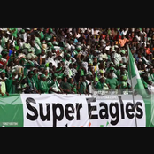The Nigerian Super Eagles, will be paying in the African cup of nations qualifier - AFCON.