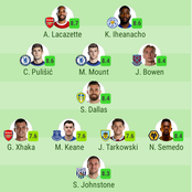 Two Chelsea Stars Named In Premier League Team Of The Week (Round 31)