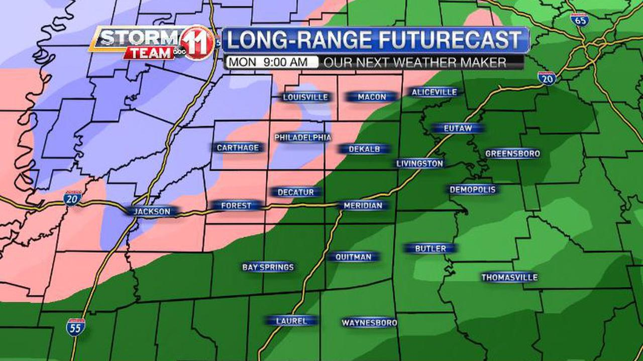 Snow, Ice Now Expected During Strong Storm Ushering In New Year