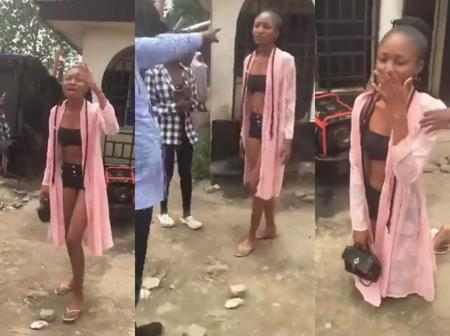 Video: Watch How This Lady Was Embarrassed In The Public Over Her Dressing