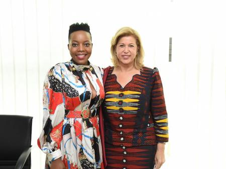 Culture: Dominique Ouattara échange avec Nomcebo Zikode auteure de « Jérusalema »