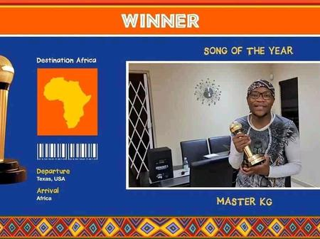 Master kg won 3 award best song of the year and others