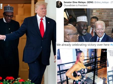 11 Nigerian Celebrities React to Joe Biden Winning U.S. Presidential Election