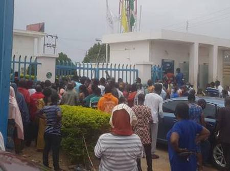 Lockdown Relaxation: Abuja Residents Storm Banks In Large Numbers