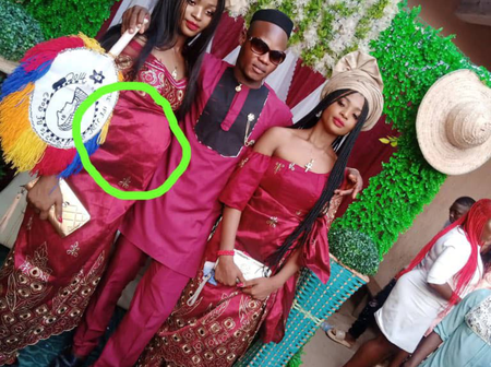 Reactions as man marries twin sisters because they can't live without each other