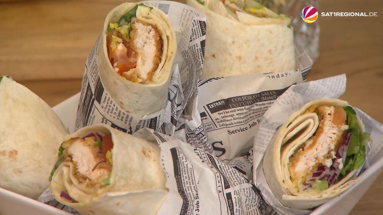 Wraps, Fruchtspieße, Salat im Glas und mehr: Tolle Picknick-Rezepte von SAT.1 Koch Dennis Heeren